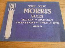 MORRIS SIXES - 16, 18, 21 & 25 SERIES II BROCHURE  jm