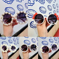 Round Sunglasses Flower Fashion Women Lady Eye Protection Sunbath Beach Eyewear