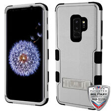 Samsung Galaxy S9+ Plus Hybrid Cover Shockproof Protective Case w/ Stand Black