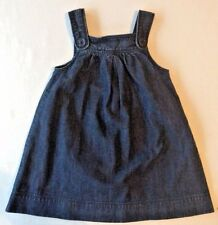 Baby Gap Girls Denim Jumper Dress EUC Size 4 Years 4T