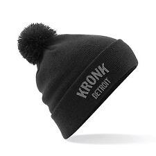 Kronk Detroit bobble hat Black One size