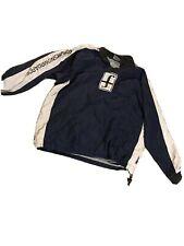 Vintage Rare Forum Snowboards Collard Pullover Sweater Windbreaker XL