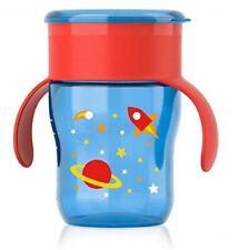 Philips Avent BPA Free My First Big Kid Cup 360degree, 9m+  9 Oz Blue SCF782/53