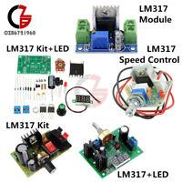 LM317  Step down Buck Power Supply Module Speed Control Adjust Regulator Kit LED