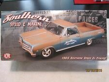 1/18 DIECAST ACME SOUTHERN SPEED & MARINE 1965 EL CAMINO