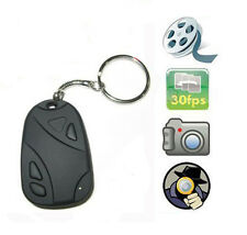 Mini Car Key Chain Spy Hidden Camera Covert Security Video Pinhole Cam Camcorder