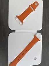 Apple Watch Hermes Orange Strap 42mm 44mm