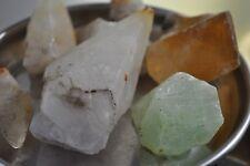 Calcite Crystal & rough Raw Mineral specimen Natural Rough Fancy colors 500 gram