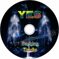 YES GUITAR BACKING TRACKS CD BEST OF GREATEST HITS MUSIC PLAY ALONG MP3 ROCK