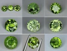 Natural Peridot Gemstone Loose Round cut gems 6mm 6.5mm 7mm 7.5mm 8.5mm Pakistan