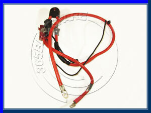 BMW 5 series E61 POSITIVE RED BATTERY CABLE WIRE PLUS POLE SRS 6944536 6944535