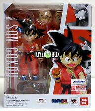 """In STOCK S.H. Figuarts Dragonball """"Kid Goku"""" Dragonball Z Action Figure"""