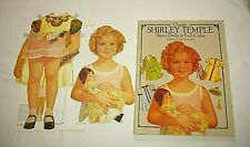 Used 1986 Shirley Temple Paper Doll Cut Out Book