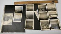 Lot of 12 WWII Photos USAAF Aircraft Aerial Interior Snow Mountains Atlantic Div