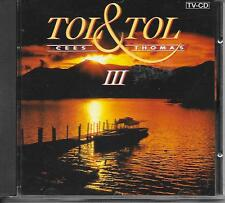 TOL & TOL - III CD Album 14TR Holland 1993 (CNR) BZN