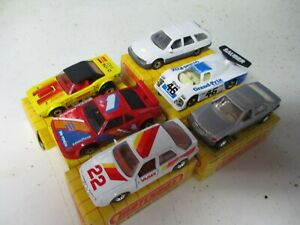 Matchbox China Superfast Lot of 5 assorted cars- generic yellow grid box