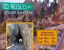 South Dakota - NEEDLES HIGHWAY - Travel Souvenir Flexible Fridge MAGNET