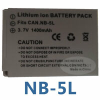 NB-5L Battery For CANON Powershot S100 SX230 iS SD990 970 SX220 SX200 SX210