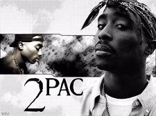 """Tupac Shakur 2Pac Hip Hop R&B Music Star Silk Cloth Poster 32 x 24"""" Decor 05"""