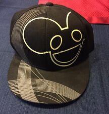 Deadmau5 Adjustable SnapBack Baseball Cap Hat Glow Logo