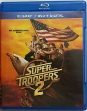 SUPER TROOPERS 2 BLU RAY DVD 2 DISC SET FREE WORLD WIDE SHIPPING BUY NOW COMEDY