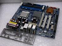 Genuine ASRock 939NF4G-SATA2 Socket 939 PCIe System Motherboard with Backplate