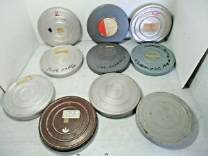 10 Vintage Bell & Howell 16mm Film with Metal Reels & Tins 1940's & 1950's