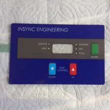 KEYPAD compatible with new Hayward Universal H-Series Low NOx heaters by INSYNC