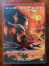 XXX DVD 2002 Vin Diesel Action Movie Special Edition Region 1