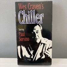 Wes Craven Chiller  VHS - Jill Schoelen,Paul Sorvino,Dick O'Neil Still Sealed !