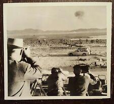 United Press International Photo & News Release of Test Shot EDDY - HARDTACK II