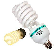 Kunstlicht-Lampe 85W / E27 / 3200K, Spirallampe Fotolampe für Studioleuchte