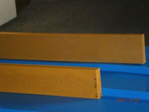 Schürfleiste (PUR) Schneeräumleiste 1600 x 150 x 20 mm f. Schneeschild 1,60m 160