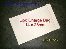 Lipo batería seguridad guardia carga Bolso Pequeño 14 X 23cm