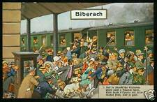 Arthur Thiele, Schwäbische Eisenbahn, Biberach, 1926