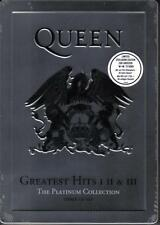 QUEEN/Greatest Hits I II & III-Platinum Collection * NEW 3cd STEELBOX * NOUVEAU