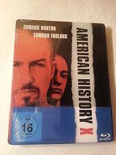 American History X Blu Ray Limited Steelbook, Region Free