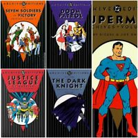 DC Archive Editions (Hardcover) - Superman, Batman, Doom Patrol, more...