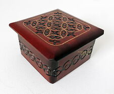 Brand New piccolo realizzato a mano in legno di gioielli ciondolo regalo spedizione gratuita