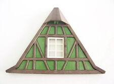 PLAYMOBIL (L3135) MOYEN-AGE - Façade Verte Toit Maison Colombage Tailleur 3440