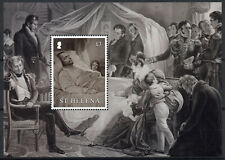 St Helena People Stamps 2021 MNH Death of Napoleon Bonaparte Exile 1v M/S