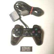 JOYSTICK PS1 Clear Black Playstation 1 ORIGINALE SONY Controller