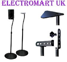 HOME Cinema Altoparlante Speaker Floor Stand Nero