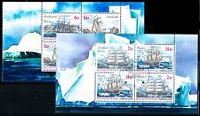Greenland #399a, #400a, Ships, both booklet panes, VFU (TP00054)