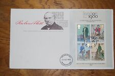 October 1979; First Day Cover; Death Centenary of Sir Rowland Hill