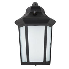 Maxxima LED Sconce Outdoor Wall Light Frosted Glass Photocell Sensor 600 Lumens