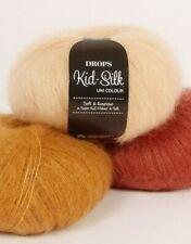 High Quality Kid Mohair and Silk Yarn, 0.9 Oz, Lace yarn, Many colors KID-SILK