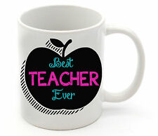 Personalised School Teacher Name Coffee Cup Mug Christmas Gift Thank you Present
