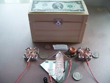 Orgone Radionics Manifest WISH MACHINE w/t Generator Orgone Amplifier &Mini Wand