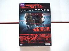 BBC British UK TV Undercover DVD/2 disc set Sophie Okonedo/Dennis Haysbert R1